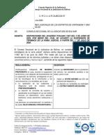 Circular 67 - Divulga lo dispuesto por el acuerdo PCSJA20-11567 del 5 de junio