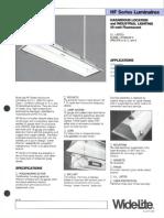 Wide-Lite HF Series Hazardous Bulletin 1986