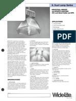 Wide-Lite IL Dual Lamp Series Bulletin 1986