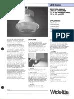 Wide-Lite LBII Series Industrial Bulletin 1987