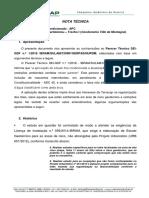 Nota Tecnica Contestacao Ao Parecer Tecnico SEI GDF n. 1 2018 IBRAM Vf Compressed