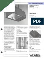 Wide-Lite WL AisleLyter Industrial Bulletin 1988