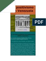 El Positivismo en Venezuela