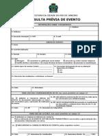 Formulário Nada Opor Prefeitura