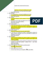 Respuestas de la evaluación final de Economía
