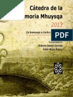 Cátedra de la memoria Mhuysqa 2013 (ISBN).pdf