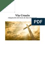 Vía Crucis - folleto para la parroquia