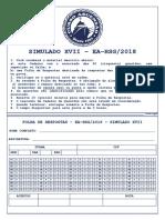 17 - EA-HSG_2018 - SIMULADO XVII - 50 QUESTÕES - COMPLETO