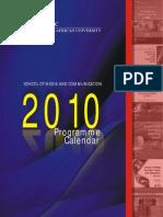 SMC 2010 Programmes Calendar