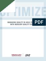 ZAP Mercury Agile Modeling With QC