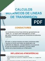 CALCULOS MECANICOS DE LINEAS DE TRANSMISION [Autoguardado]