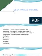 MANEJO  DE LA  PAREJA  INFERTIL