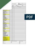 Checklist pre-uso Modular