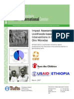 Impact Assessments of Livelihoods-based Drought Interventions in Moyale and Dire Woredas