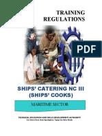 TR Ships' Cooks NC III