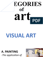 Categories and Classifications of Art