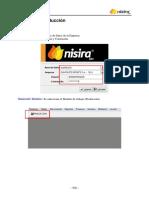 MANUAL NISIRA ERP - MODULO PRODUCCION