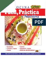 cocinal facil y practica sencillo