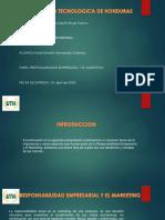 TAREA IIIPARCIAL-RESPONSABILIDAD SOCIAL Y EL MARKETING
