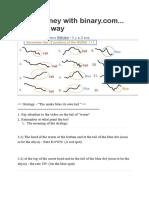 Make money with binary