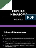 EPIDURAL HEMATOM kel 3