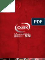 Informe 2010 Fundación Colosio