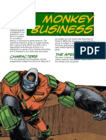 Judge Dredd & The Worlds Of 2000AD - Case File #1 Monkey Business [OEF][15-12-2019]