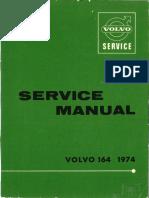 Volvo 164 Service Manual