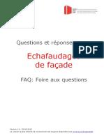FAQ-Echaffaudage de Façade