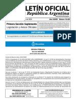 Decreto 582/2020