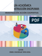 Guía académica de la construcción disciplinar
