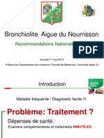 36 BRONCHIOLITE AIGUE DU NOURRISSON