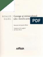 George si miraculosul sau medicament - Roald Dahl
