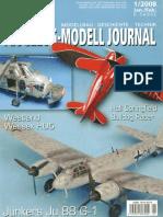 Kit Flugzeug-Modell Journal 2008-01