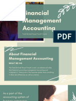 Features of Management Accounting | Frank Michael House Forsyth County