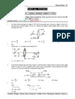 Mock Test # 10 (P-2) DT. 30-06-2020