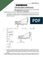 Mock Test # 10 (P-1) DT. 30-06-2020