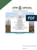 Boletín oficial Mendoza-alerta sanitaria
