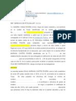 DERECHO DE PETICIÓN ART. 23 C.N. DAILA MARIANA CASTRO RIVERA