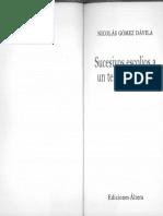 (xixaro) Nicolás Gómez Dávila - Sucesivos escolios a un texto implícito-Ediciones Áltera (2002).pdf