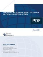 The Projected Economic Impact of Covid-19 on the Creative Industries Report - Creative Industries Federation 2020.pdf
