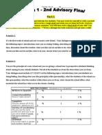 2nd Advisory Final Assessment SPan 1