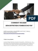 Comment-réussir-son-entretien-dembauche-PDF