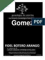 Genealogias de Colombia-Gomez