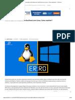 Hora errada no Windows em dual boot com Linux. Como resolver_ - Diolinux