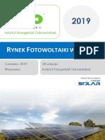 2019-06 IEO - Rynek fotowoltaiki w Polsce