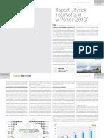 2019-07 Instal Reporter - Rynek Fotowoltaiki w Polsce 2019