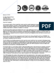 Postal unions letter to Obama on pension overfunding