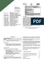 CRONOGRAMA Y PROGRAMA seccion 63
