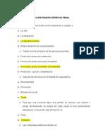 TALLER CUESTIONARIO DERECHO PENAL 2